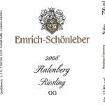 ドイツワイン Weingut Emrich-Schönleber