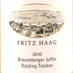 ドイツワイン Weingut Fritz Haag-Dusemonder Hof