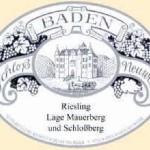 ドイツワイン Weingut Schloss Neuweier